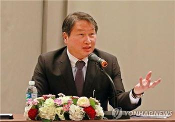최태원 회장, SK㈜ 이사회 복귀…의장 맡을 듯(종합)
