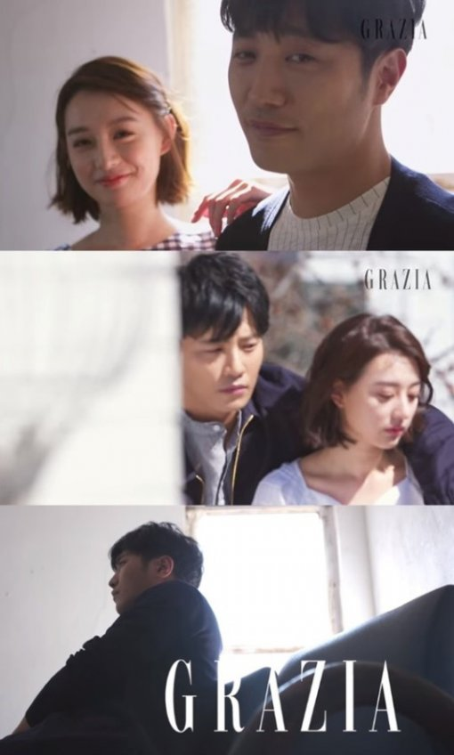 """'구원 커플' 진구-김지원, 실제 연인 같은 화보…""""기대해주시지 말입니다"""""""