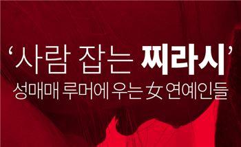 '사람 잡는 찌라시' 성매매 루머에 우는 女 연예인들