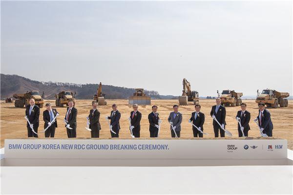 BMW 코리아, '총 1천3백억원' 투자 최대 부품물류센터 건립