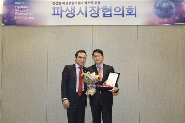 NH투자證, 파생시장협의회 주최 '최우수 파생상품상' 수상