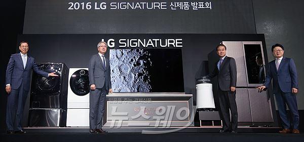 """조성진 LG電 사장 """"LG 시그니처에 회사 사활 걸었다"""""""