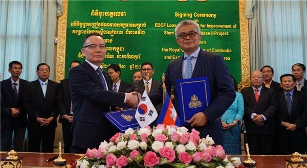 수출입은행, 캄보디아 '하천정비 사업' 1330만 달러 지원