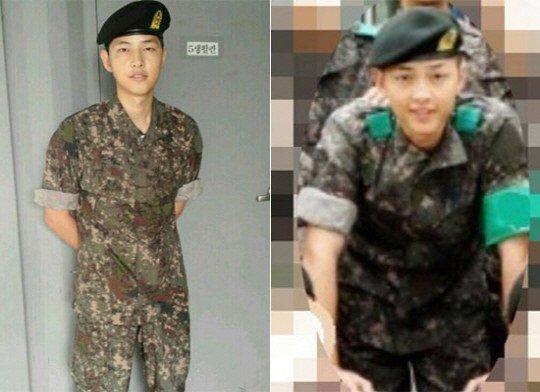 """'태양의 후예' 송중기, 실제 군생활 시절 모습…""""진짜 군인이지 말입니다"""""""