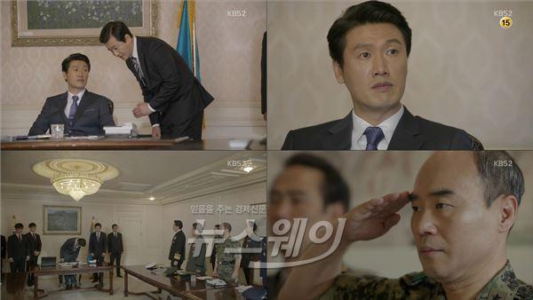 '태양의 후예' 대통령役 성기윤 누구?… 명품 신스틸러 입증