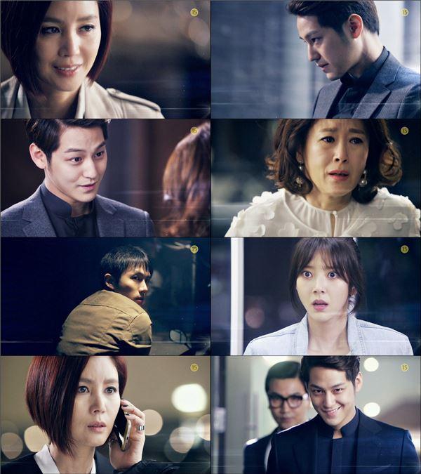 '미세스캅2' 김범·김성령, 살얼음판 분위기에 간담 서늘