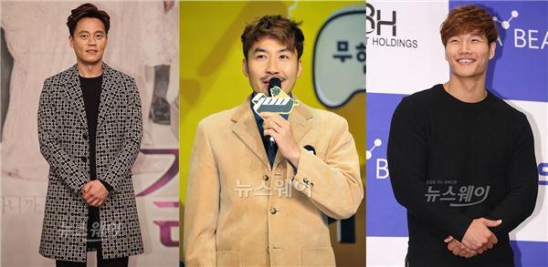 이서진·노홍철·김종국, KBS2 예능 '어서옵쇼' MC 발탁