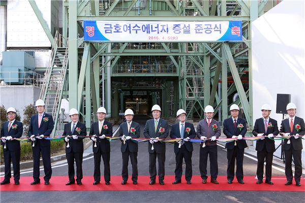금호석유화학, 여수 제2에너지 증설…생산량 두배 확대