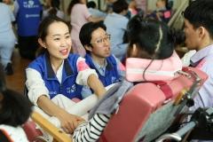 효성, 장애아동시설 방문해 체육대회 진행