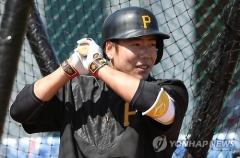강정호, 건재함 과시…복귀전서 연타석 홈런 기록