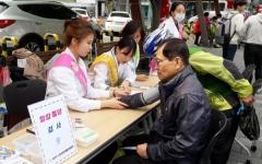 고산건강생활지원센터, 신매광장서 건강생활 캠페인