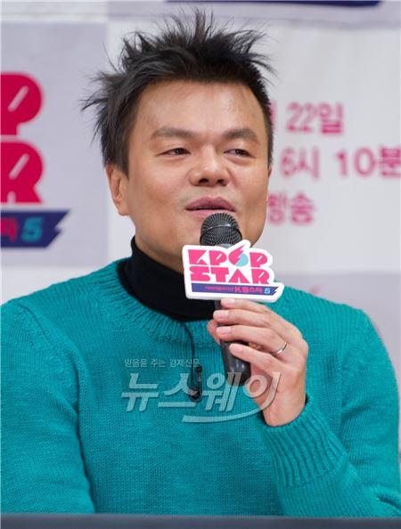 """""""박진영, 이수만·양현석 제쳤다""""…연예인 주식부호 1위"""