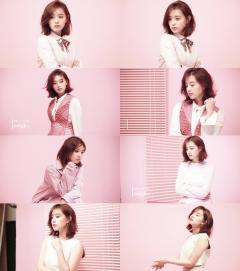 김지원, 봄 맞이 핑크 여신으로 변신