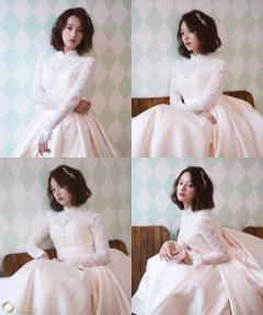 김지원, 싱그러운 순백의 여신으로 변신