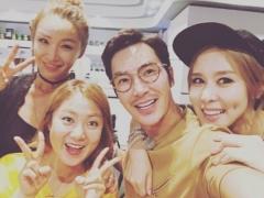 """'우리오빠쇼' 배윤정-박나래-김우리-채리나 다정샷 공개…""""흔쾌히 나와줘 고마워"""""""