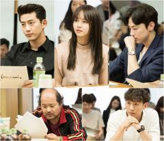 '싸우자 귀신아', 택연X김소현 케미 돋보이는 대본리딩 현장 공개