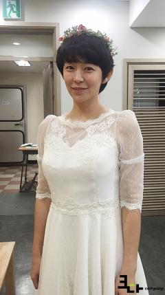 '아이가 다섯' 심이영, 청순미 넘치는 웨딩화보 사진