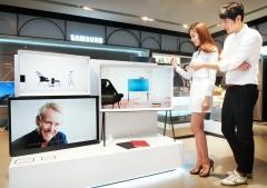 삼성전자, '세리프 TV' 주요 백화점서 판매 개시