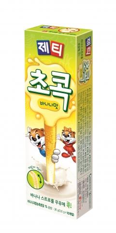 동서식품, 제티 초콕 '바나나 맛' 출시