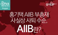홍기택 AIIB 부총재 사실상 사퇴 수순, AIIB란?
