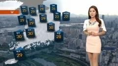 [오늘의 날씨] 장마전선 북상, 밤사이 장맛비 전국 확대···낮에는 '후덥지근'