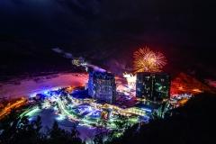 하이원리조트, 밤하늘 수 놓는 화려한 불꽃쇼