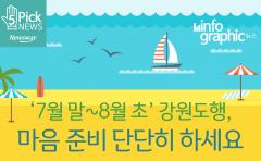 [인포그래픽 뉴스] 여름휴가 '7월 말~8월 초' 강원도행, 마음 준비 단단히 하세요