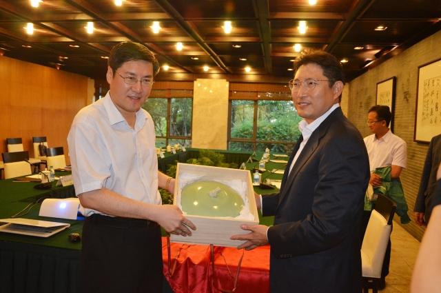 조현준 효성 회장, 천신 中 당서기와 만나 중국사업 협력 방안 논의