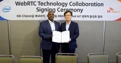 SKT-인텔, IoT 기기에 실시간 통신 기술 심는다