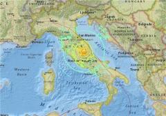 이탈리아 중부 6.2 지진…진원 얕아 피해 예상