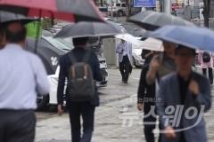 전국 흐리고 비, 낮에도 '쌀쌀'…미세먼지 '좋음'