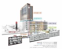 롯데건설, '성복역 롯데캐슬 골드타운' 오피스텔 9월 분양