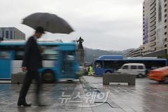 [오늘 날씨]전국 흐리고 일부지역 강한비···가을장마 시작