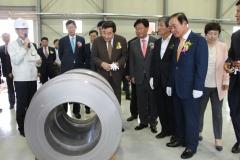 에너지밸리 협약기업 '이우티이씨', 나주혁신산단 제1호 제품 생산