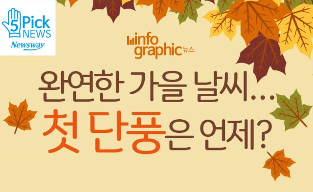 완연한 가을 날씨…첫 단풍은 언제?