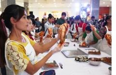 우리 농식품, 동남아 황금시장 미얀마에서 인기몰이