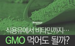[카드뉴스] 식용유에서 비타민까지···GMO 먹어도 될까?