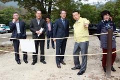 김생기 정읍시장, 사계절 체류형 관광인프라 기반구축 사업장 현장 점검