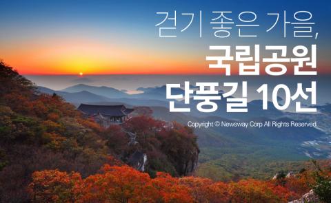 걷기 좋은 가을, 국립공원 단풍길 10선