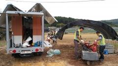 경북농협, 수해지역 농기계 수리 봉사