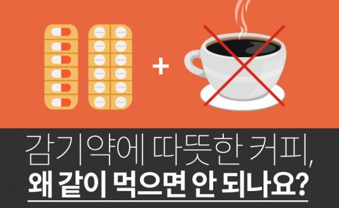 감기약에 따뜻한 커피, 왜 같이 먹으면 안 되나요?