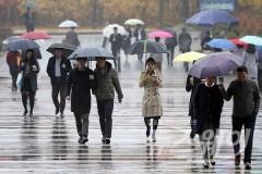 전국 차차 흐려져 오후부터 비…내일(14일) '수능 한파'