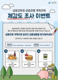 """금감원 """"20大 금융 개혁 평가하세요"""""""