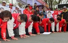 총선패배에 역대급 스캔들…박근혜 정권의 몰락