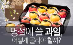 명절에 쓸 과일, 어떻게 골라야 할까?