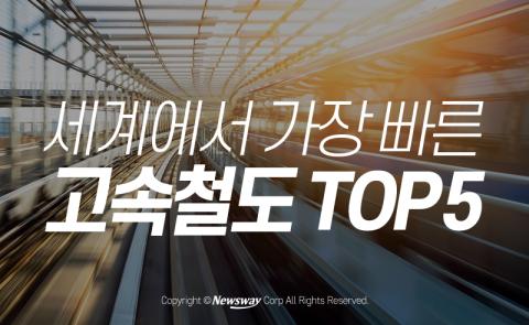 세계에서 가장 빠른 고속철도 TOP 5