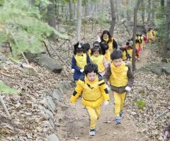 보성군, 제암산자연휴양림 유아숲 체험 프로그램 운영