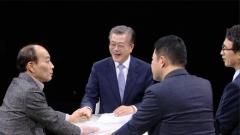 """'썰전' 문재인, 동문 전원책에 """"내 선배인 줄 알았다"""""""