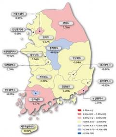 감정원, 3월 2주 아파트값 상승폭 유지