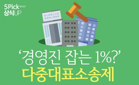 '경영진 잡는 1%?' 다중대표소송제